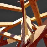 Charpente traditionnelle en bois assemblage chevillée