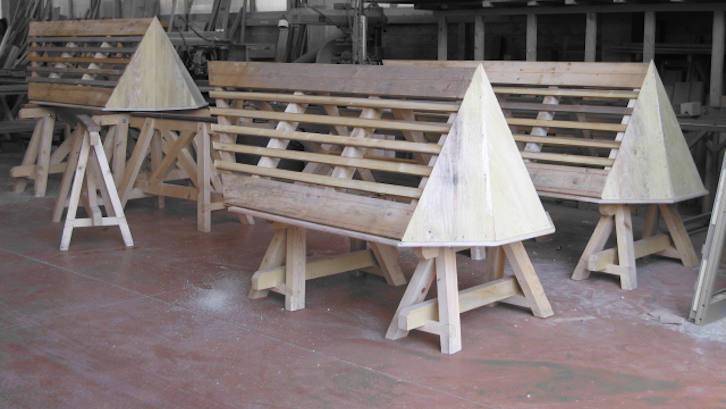 Charpente bois pré montage de lucarne pour toiture ardoise