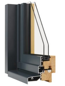 fenêtre hybride minco bois aluminium
