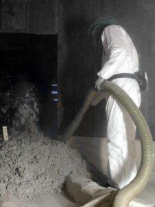 isolation thermique ouate de cellulose bio sourcé par souflage en rénovation